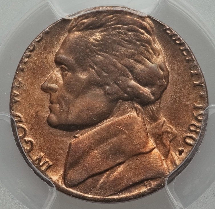 PCGS Set Registry - Jefferson Nickel Errors Showcase Image Gallery