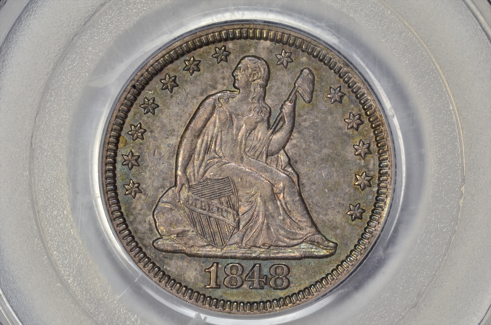 GFRC Open Set Registry - BIG BLUE 1848 Seated  25C