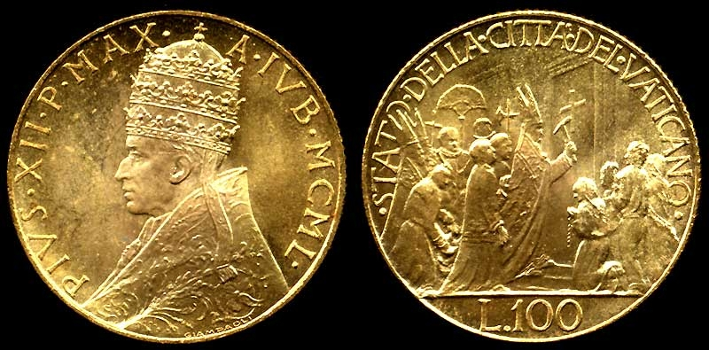 Image result for vatican gold
