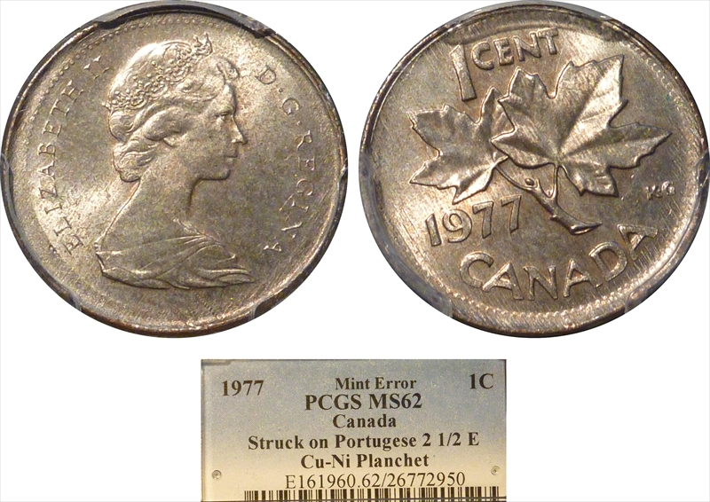PCGS Set Registry - Collectors Showcase: SPP Canada Small Cent Off