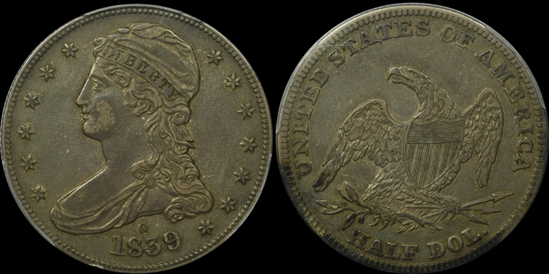 GFRC Open Set Registry - White Pine 1839 Capped Bust  50C