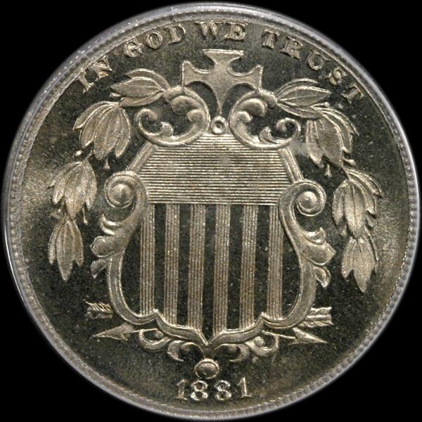 GFRC Open Set Registry - Winesteven 1867-1883 Shield No Rays 5C