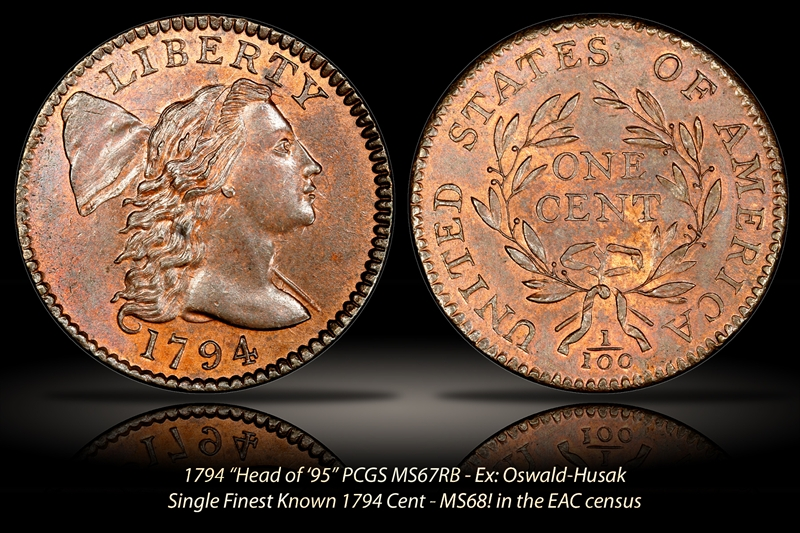 American Coin Treasures 466 Collectors Favorites Large Cent 1793-1857