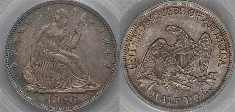 GFRC Open Set Registry - Seal Beach 1856 Seated  50C