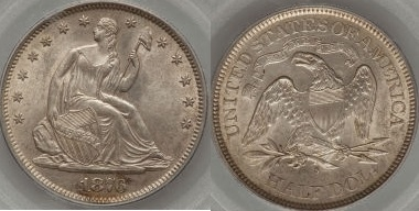 GFRC Open Set Registry - Seal Beach 1876 Seated  50C