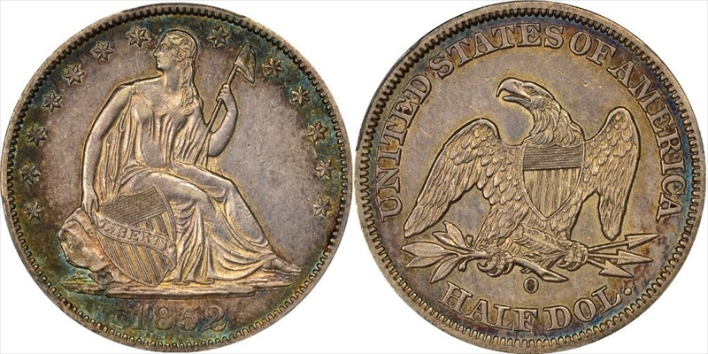 GFRC Open Set Registry - Seal Beach 1852 Seated  50C