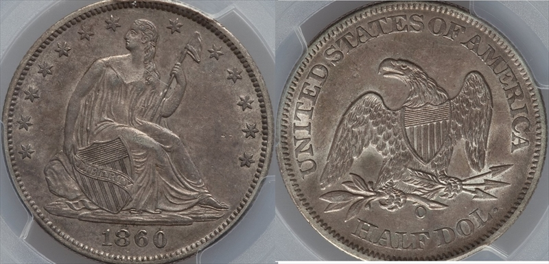 GFRC Open Set Registry - Seal Beach 1860 Seated  50C