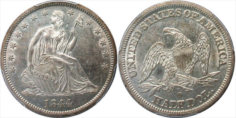 GFRC Open Set Registry - Seal Beach 1844 Seated  50C