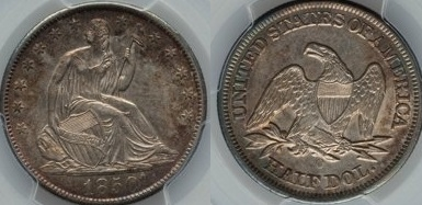 GFRC Open Set Registry - Seal Beach 1850 Seated  50C