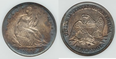 GFRC Open Set Registry - Seal Beach 1848 Seated  50C