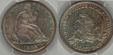 GFRC Open Set Registry - Seal Beach 1846 Seated  50C