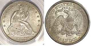 GFRC Open Set Registry - Seal Beach 1877 Seated  50C