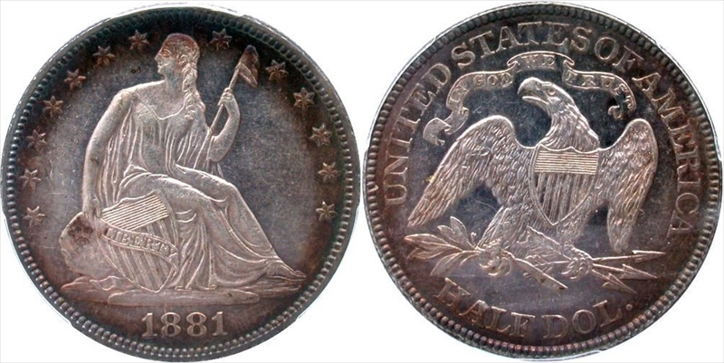 GFRC Open Set Registry - Seal Beach 1881 Seated  50C