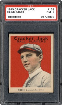 1915 Cracker Jack 159 Heinie Groh