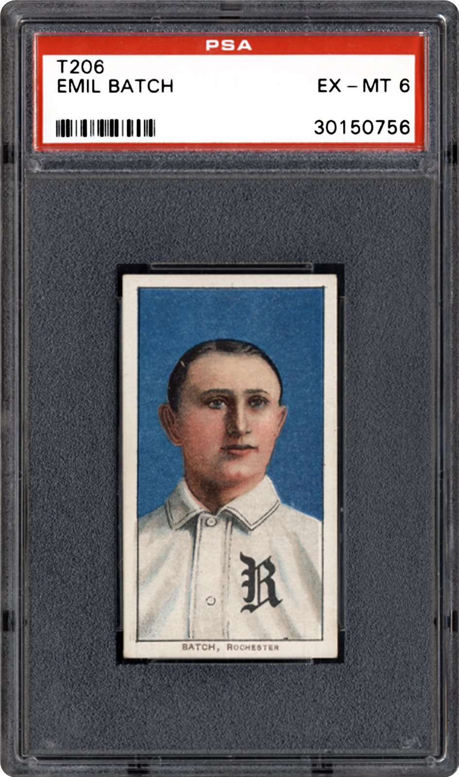 1909-1911 T206 Unknown Back Emil Batch