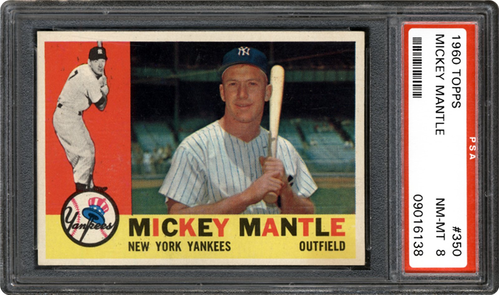 1960 Topps 350 Mickey Mantle