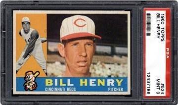 1960 Topps 524 Bill Henry