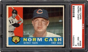 1960 Topps 488 Norm Cash