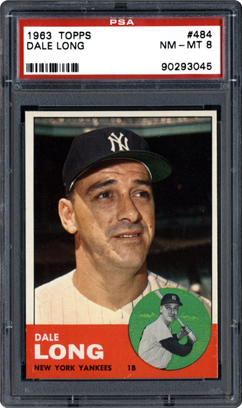 1963 Topps Dale Long Psa Cardfacts