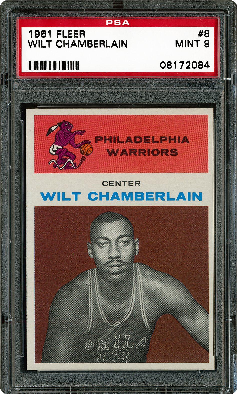 1961 Fleer 8 Wilt Chamberlain