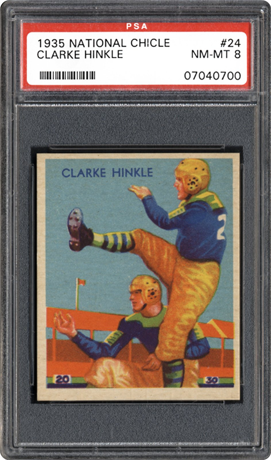 1935 National Chicle Clarke Hinkle | PSA CardFacts™