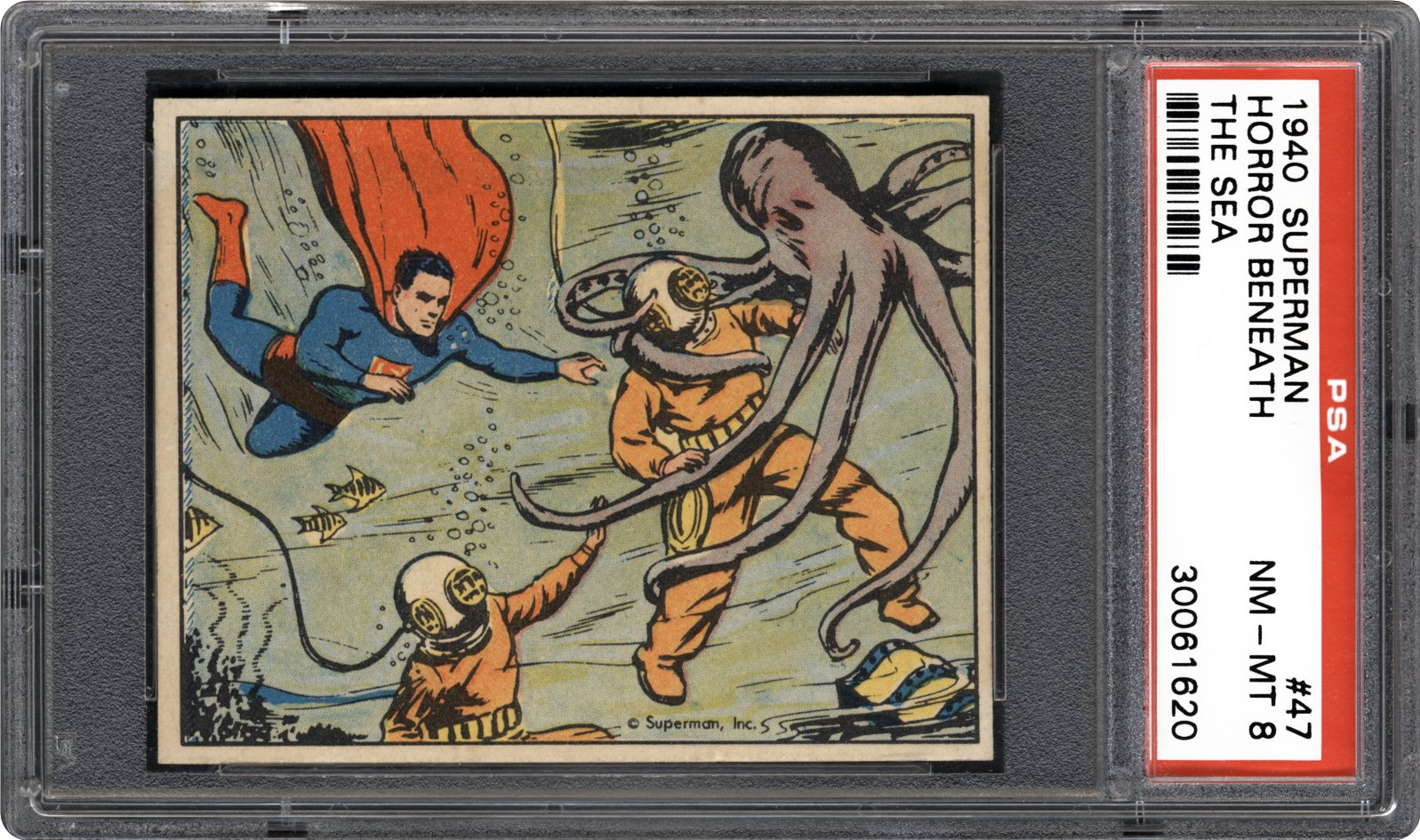 1940 Superman 47 Horror Beneath The Sea