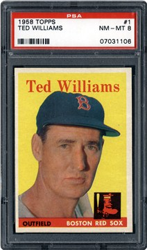1958 Topps 1 Ted Williams