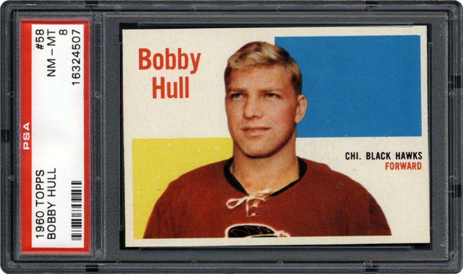 1960 Topps 58 Bobby Hull