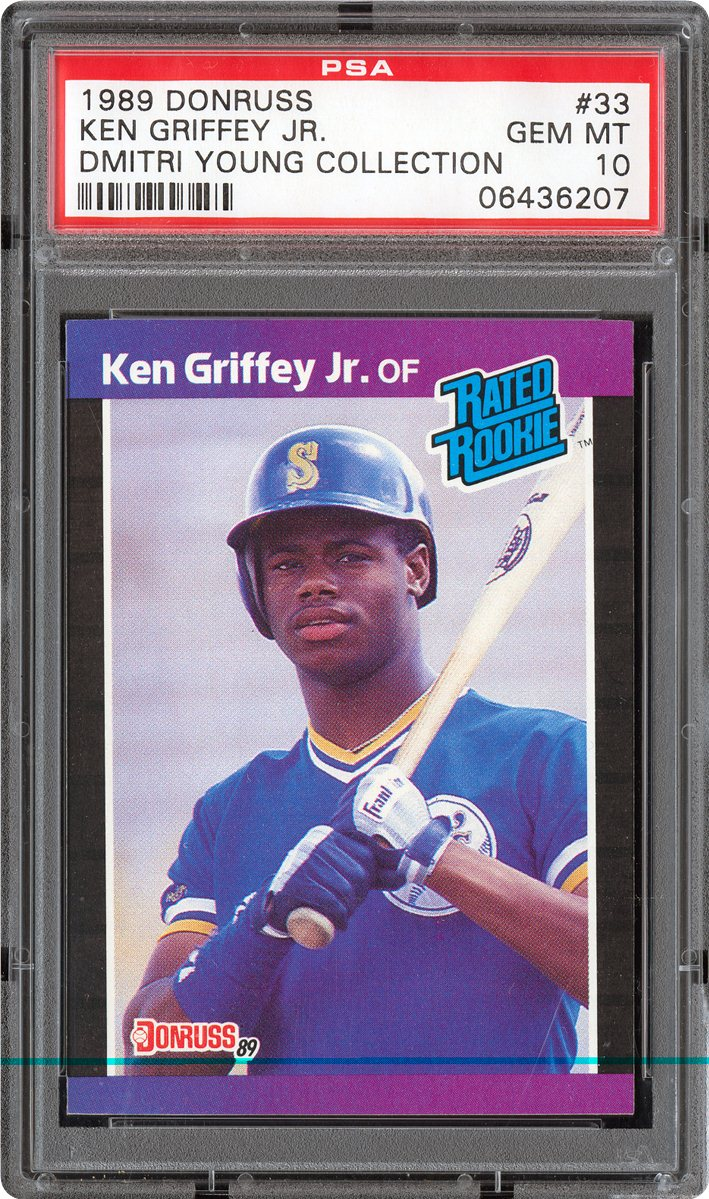 1989 Donruss 33 Ken Griffey Jr.