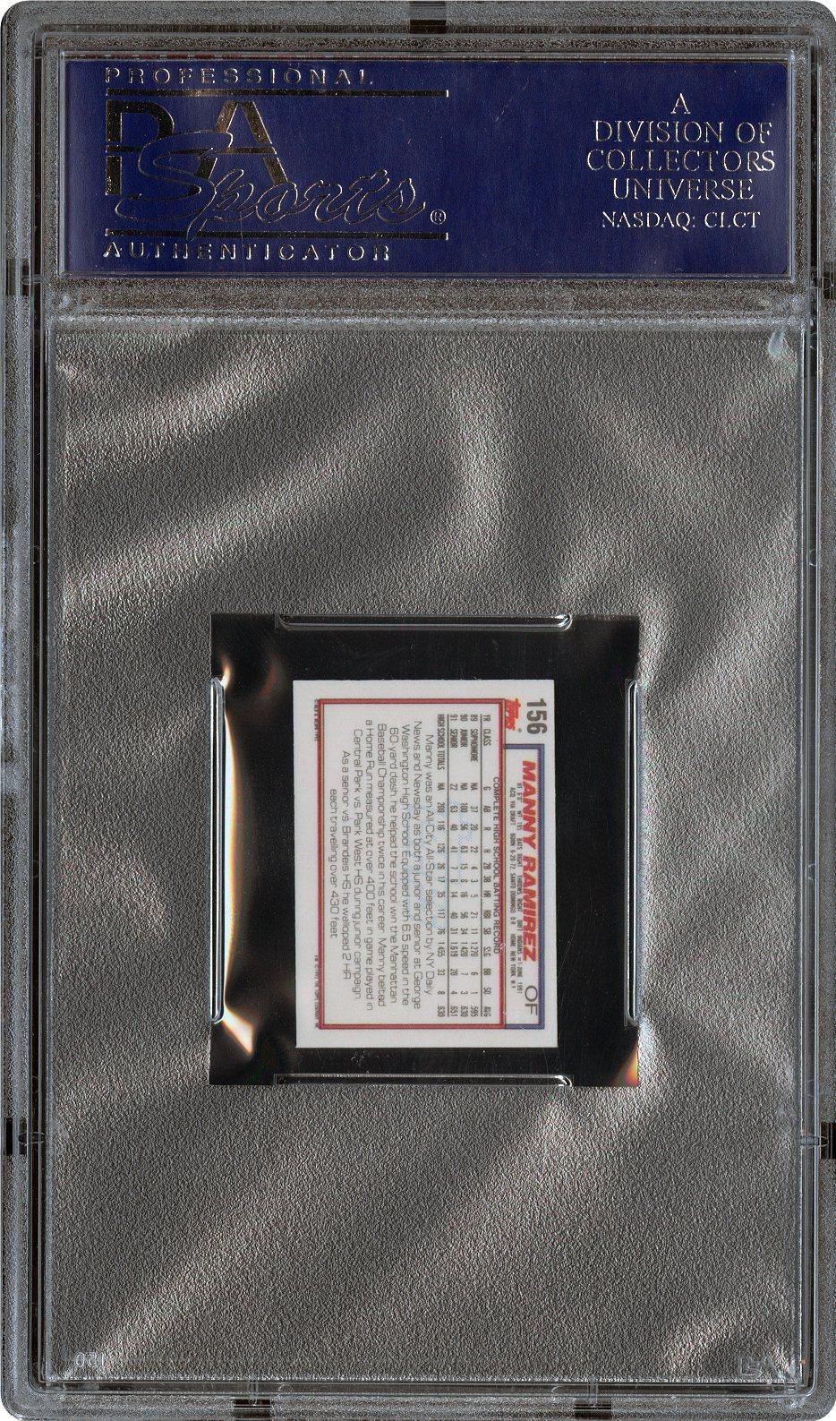 1992 Topps Micro 156 Manny Ramirez