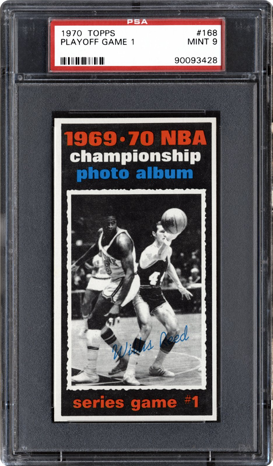 1970 Topps Playoff Game 1 (Willis Reed) | PSA CardFacts™