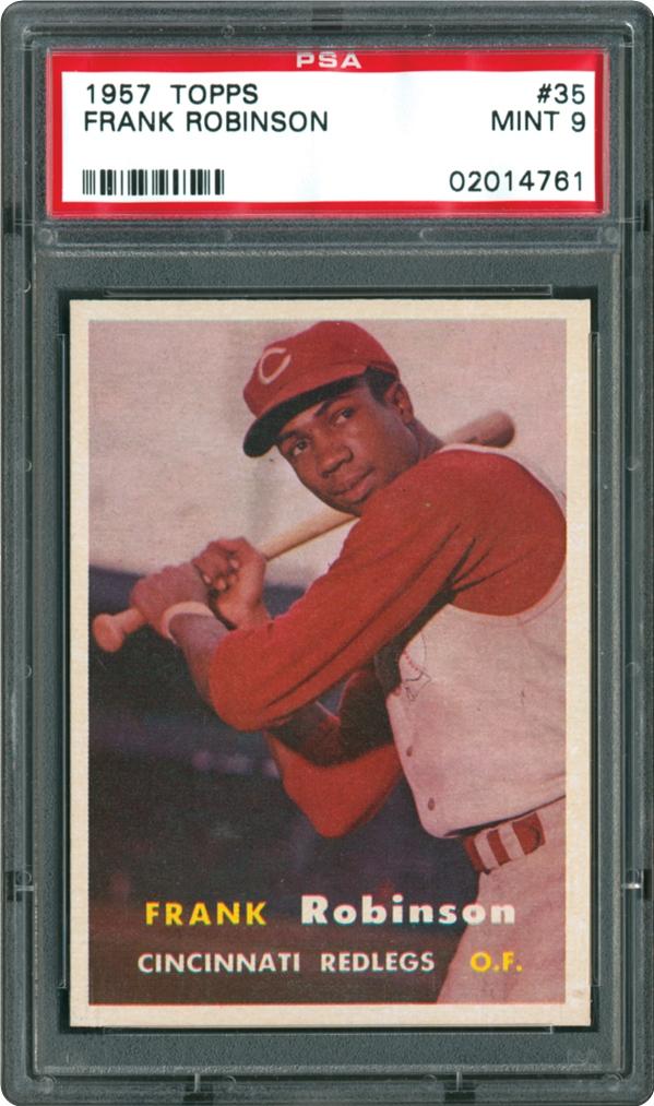 1957 Topps 35 Frank Robinson