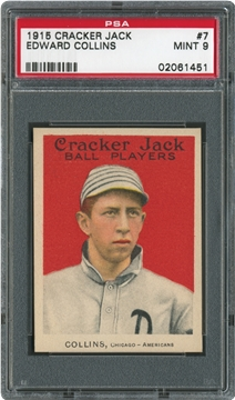 1915 Cracker Jack 7 Edward Collins