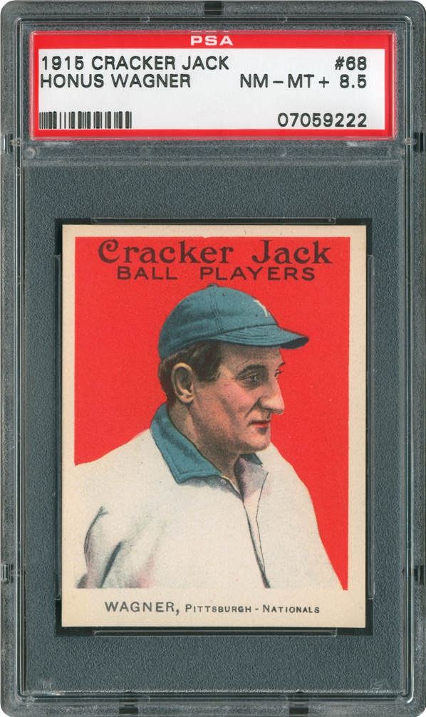 1915 Cracker Jack 68 Honus Wagner