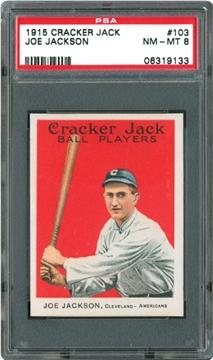 1915 Cracker Jack 103 Joe Jackson
