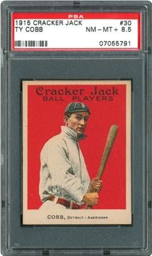 1915 Cracker Jack 30 Ty Cobb