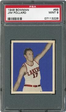 1948 Bowman 66 Jim Pollard