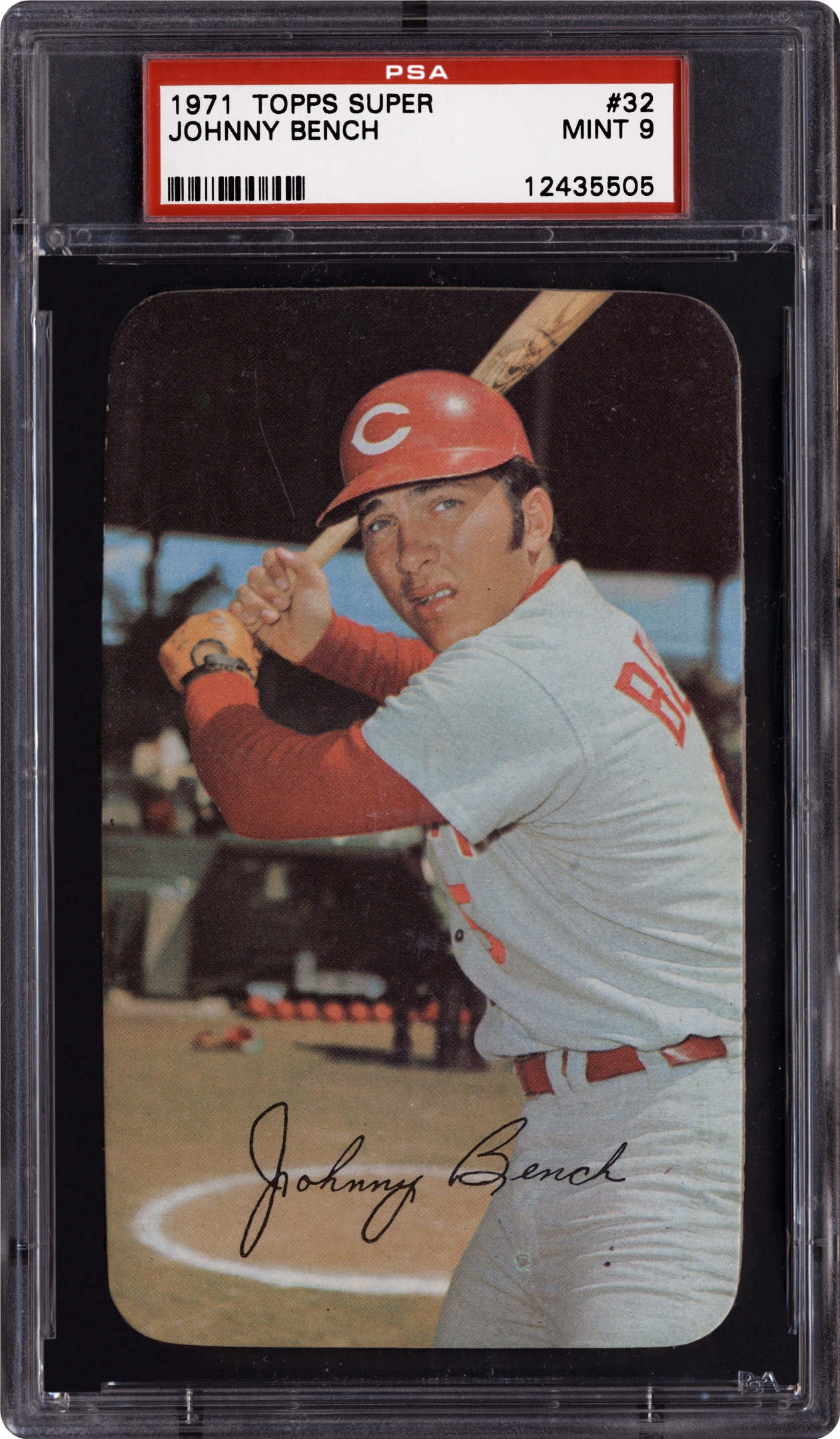 1971 Topps Super Johnny Bench Psa Cardfacts