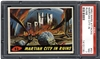 1962 Mars Attacks 53 Martian City In Ruins