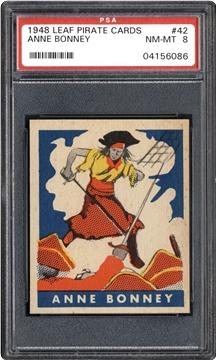 1948 Leaf Pirate Cards 42 Anne Bonney