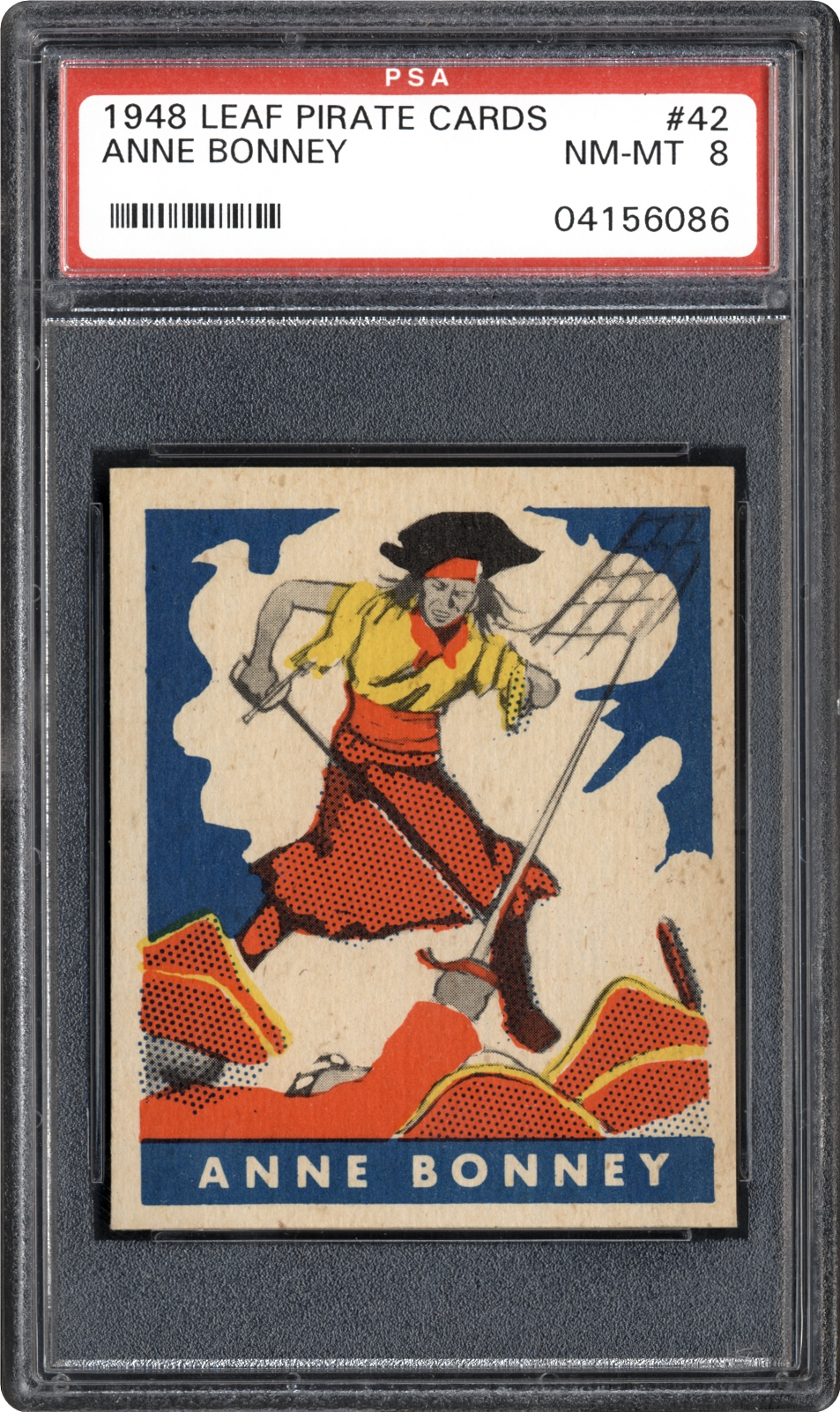 1948 Leaf Pirate Cards 42 Anne Bonney