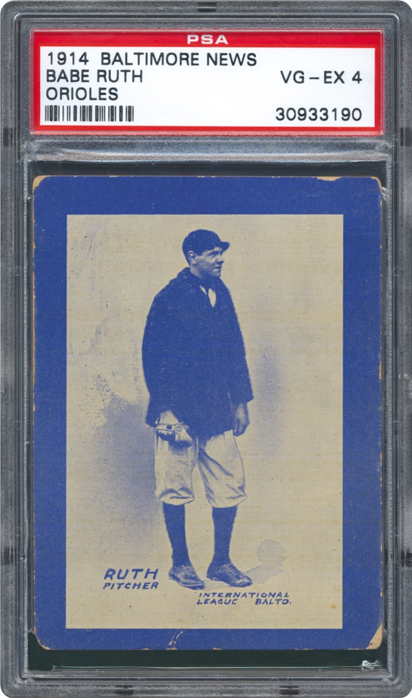1914 Baltimore News Babe Ruth