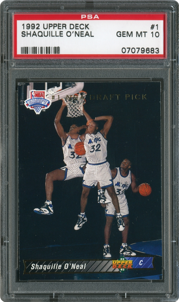 1992 Upper Deck 1 Shaquille O'Neal