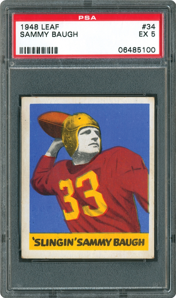 1948 Leaf 34 Sammy Baugh