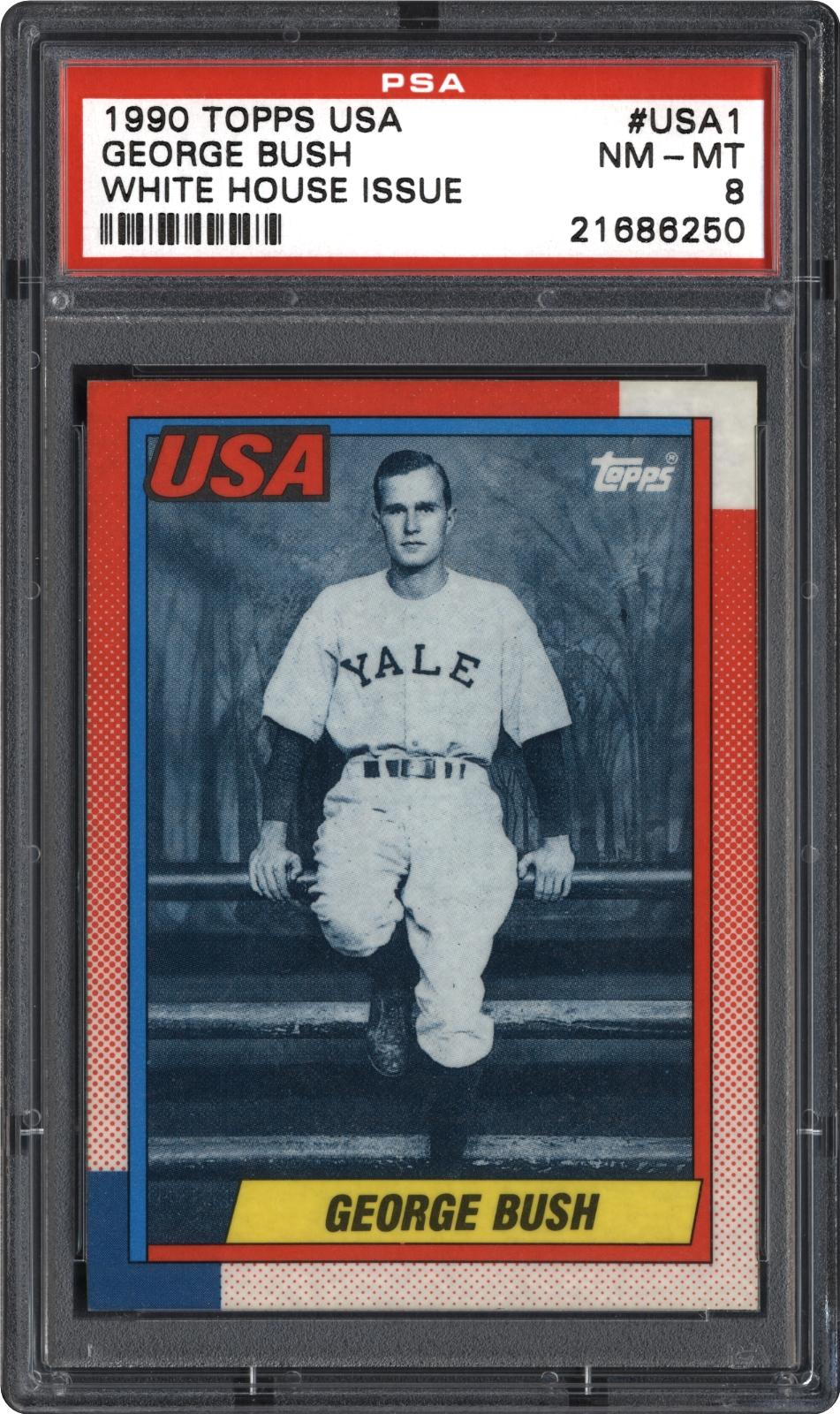 Baseball Cards 1990 Topps Usa Psa Cardfacts