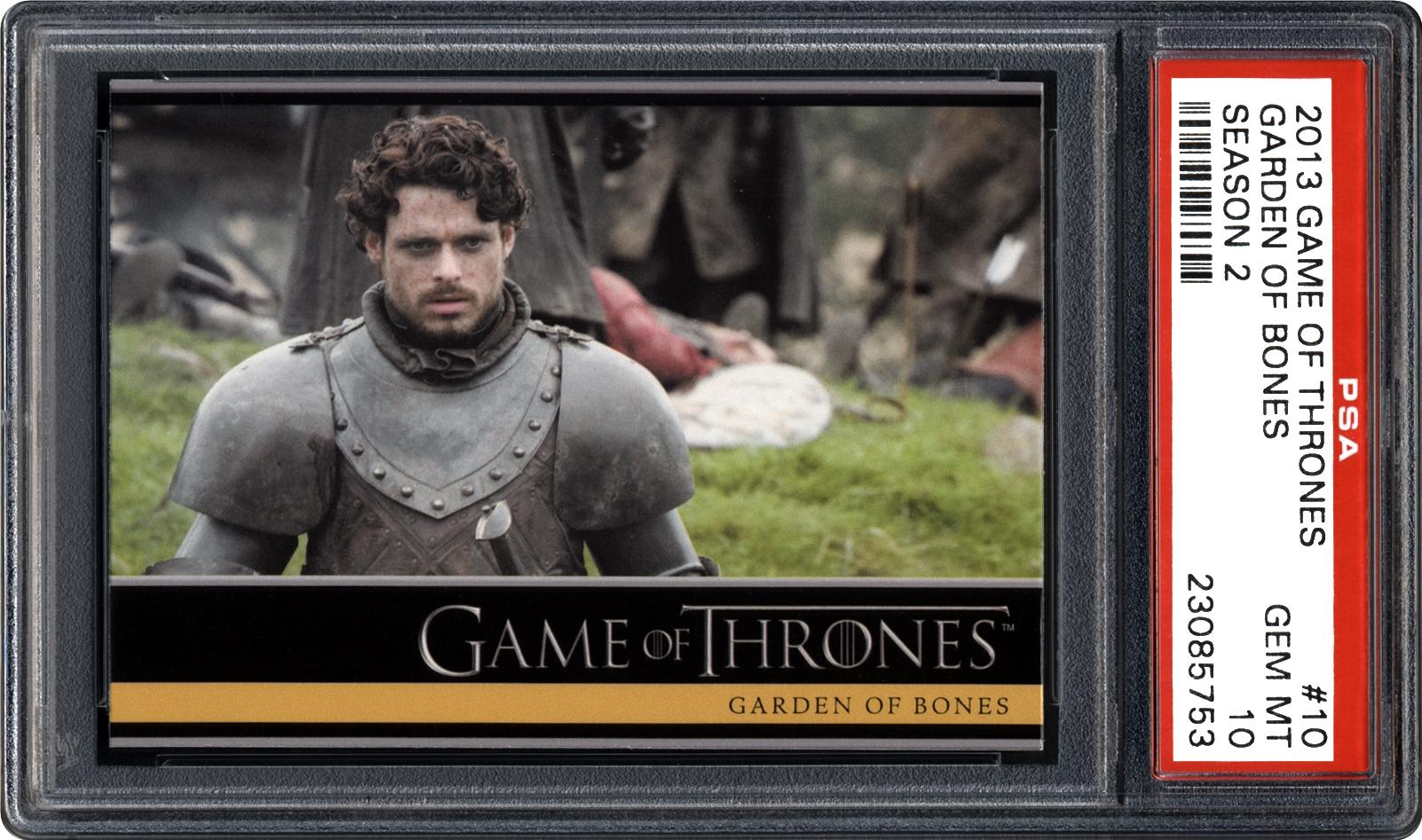 2013 Rittenhouse Game Of Thrones Season 2 Garden Of Bones Psa Cardfacts