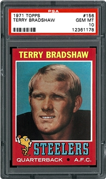 1971 Topps 156 Terry Bradshaw