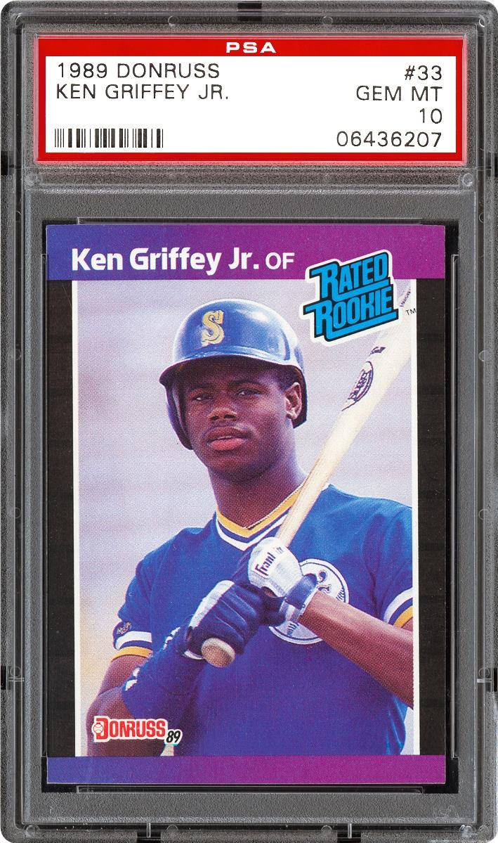 Baseball Cards 1989 Donruss Psa Cardfacts