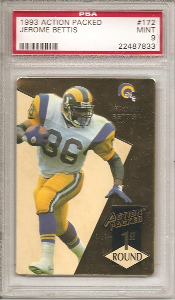 Football Jerome Bettis Rookie Set All Time Set Jerome