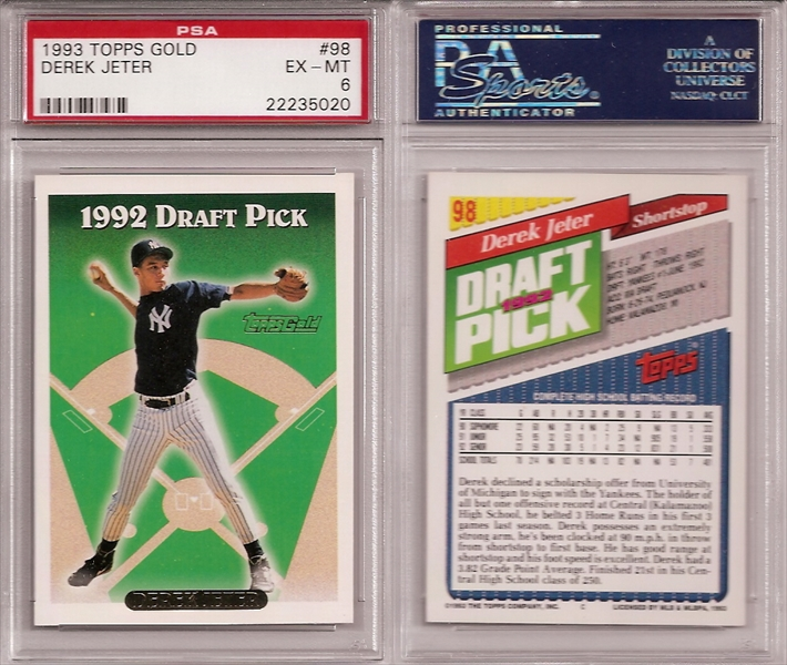 Baseball Derek Jeter Master Set Ts 2nd String Set Image